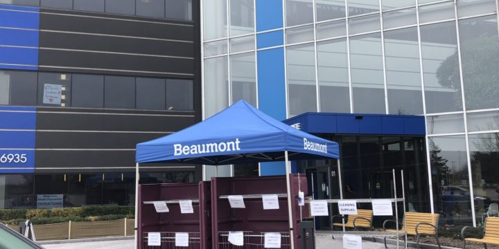 Protected: 捐贈口罩給Beaumont Hospital